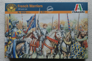 Italeri 1/72 IT6026 French Warriors (Medieval)